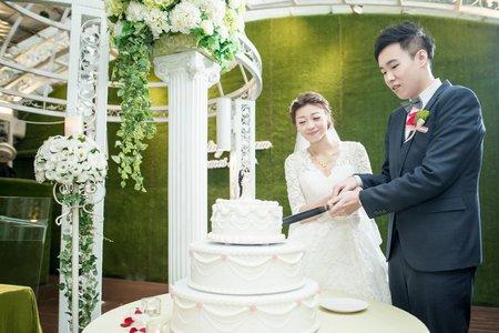 [台北] 青青食尚會館   訂結 + 戶外證婚 + 午宴
