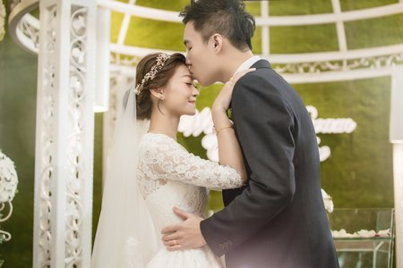 [台北] 青青食尚會館 | 訂結 + 戶外證婚 + 午宴