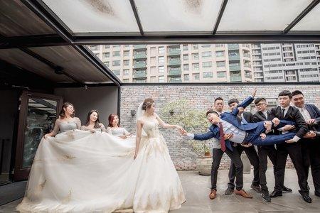 [台北] Drummer 音樂主題餐廳 | 戶外證婚 + 午宴