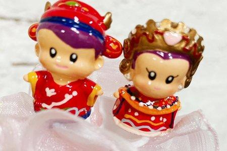 中式/西式新郎新娘花棒