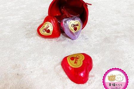 愛心巧克力(造型水桶裝)8入