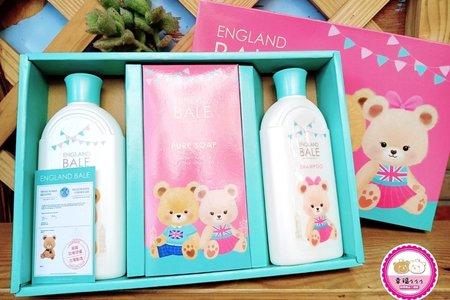 貝爾熊禮盒(洗髮/沐浴/香皂)