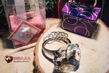 鑽石戒指鑰匙圈