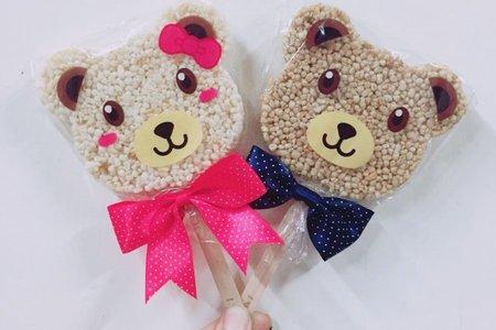 熊愛你米香棒