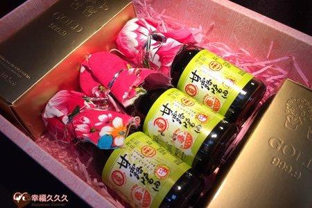 豪華黃金喜米喝茶禮盒