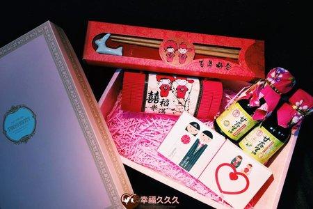 豪華綜合雙囍喝茶禮盒