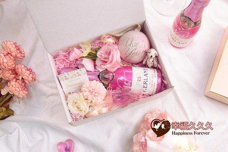 漂亮炫彩氣泡酒禮盒