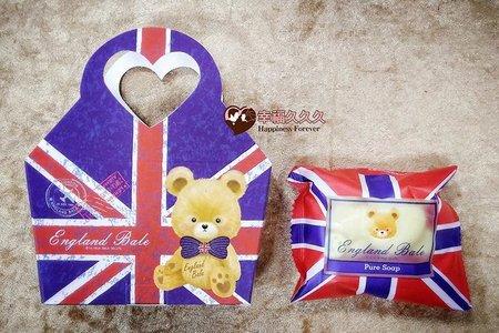 英倫國旗版-貝爾熊抗菌皂