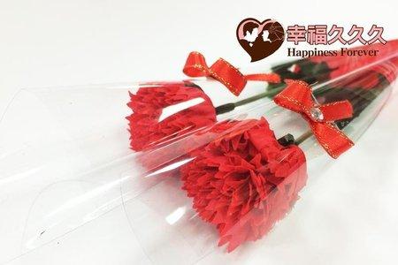 康乃馨香皂花束