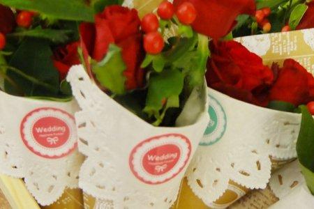 幸福莊園花卉甜筒