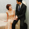 香檳金魚尾禮服,空氣感低盤,馨,台北晶宴會館(編號:305421)