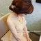 香檳金魚尾禮服,空氣感低盤,馨,台北晶宴會館(編號:305422)