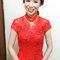 紅蕾絲旗袍,低盤氣質馬尾,意珊,基隆自宅(編號:305441)