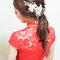 紅蕾絲旗袍,低盤氣質馬尾,意珊,基隆自宅(編號:305444)