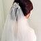 結婚迎娶儀式,氣質低髻,鑽飾髮叉(編號:418819)