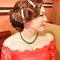 紅蕾絲旗袍禮服.復古指推波.送客(編號:418853)