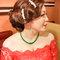 紅蕾絲旗袍禮服.復古指推波.送客(編號:418857)