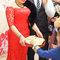 紅蕾絲旗袍禮服.復古指推波.送客(編號:418892)