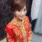 龍鳳袍 (裙掛) ,氣質編髮,上台造型,魚兒,基隆全家福海鮮餐廳(編號:419433)
