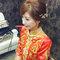 龍鳳袍 (裙掛) ,氣質編髮,上台造型,魚兒,基隆全家福海鮮餐廳(編號:419485)