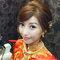 龍鳳袍 (裙掛) ,氣質編髮,上台造型,魚兒,基隆全家福海鮮餐廳(編號:419498)