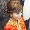 龍鳳袍 (裙掛) ,氣質編髮,上台造型,魚兒,基隆全家福海鮮餐廳(編號:419516)