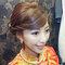龍鳳袍 (裙掛) ,氣質編髮,上台造型,魚兒,基隆全家福海鮮餐廳(編號:419523)
