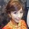 龍鳳袍 (裙掛) ,氣質編髮,上台造型,魚兒,基隆全家福海鮮餐廳(編號:419529)