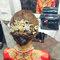 龍鳳袍 (裙掛) ,氣質編髮,上台造型,魚兒,基隆全家福海鮮餐廳(編號:419536)