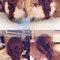 水藍雙肩背V澎,韓式胡蝶結,瑪格麗特,台北國賓大飯店(編號:419639)