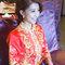 龍鳳袍 (裙掛) ,氣質編髮,文定儀式,魚兒,基隆全家福海鮮餐廳(編號:419886)