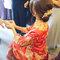 龍鳳袍 (裙掛) ,氣質編髮,文定儀式,魚兒,基隆全家福海鮮餐廳(編號:419894)
