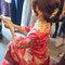 龍鳳袍 (裙掛) ,氣質編髮,文定儀式,魚兒,基隆全家福海鮮餐廳(編號:419897)