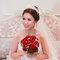 水晶白紗長拖尾,進場造型,手工蕾絲皇冠,意珊,基隆長榮桂冠酒店(編號:420005)