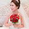 水晶白紗長拖尾,進場造型,手工蕾絲皇冠,意珊,基隆長榮桂冠酒店(編號:420012)