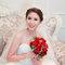 水晶白紗長拖尾,進場造型,手工蕾絲皇冠,意珊,基隆長榮桂冠酒店(編號:420017)
