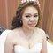 淡橘紗禮服,編髮公主,可可,台北臻愛婚宴會館(編號:420180)
