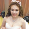 淡橘紗禮服,編髮公主,可可,台北臻愛婚宴會館(編號:420202)