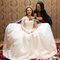 淡橘紗禮服,編髮公主,可可,台北臻愛婚宴會館(編號:420218)