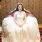 淡橘紗禮服,編髮公主,可可,台北臻愛婚宴會館(編號:420224)