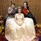 淡橘紗禮服,編髮公主,可可,台北臻愛婚宴會館(編號:420227)