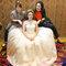 淡橘紗禮服,編髮公主,可可,台北臻愛婚宴會館(編號:420231)