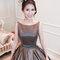 簡約大方灰禮服,高雅低盤,意珊,基隆長榮桂冠酒店(編號:420237)