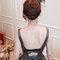 簡約大方灰禮服,高雅低盤,意珊,基隆長榮桂冠酒店(編號:420250)