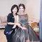 簡約大方灰禮服,高雅低盤,意珊,基隆長榮桂冠酒店(編號:420266)