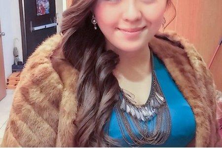 土耳其藍時裝,名媛髮型,敬酒
