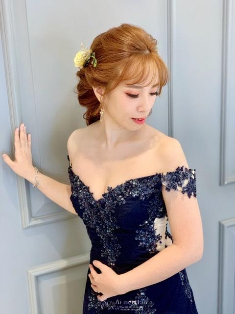 新秘愛咪.婚宴造型.送客花公主