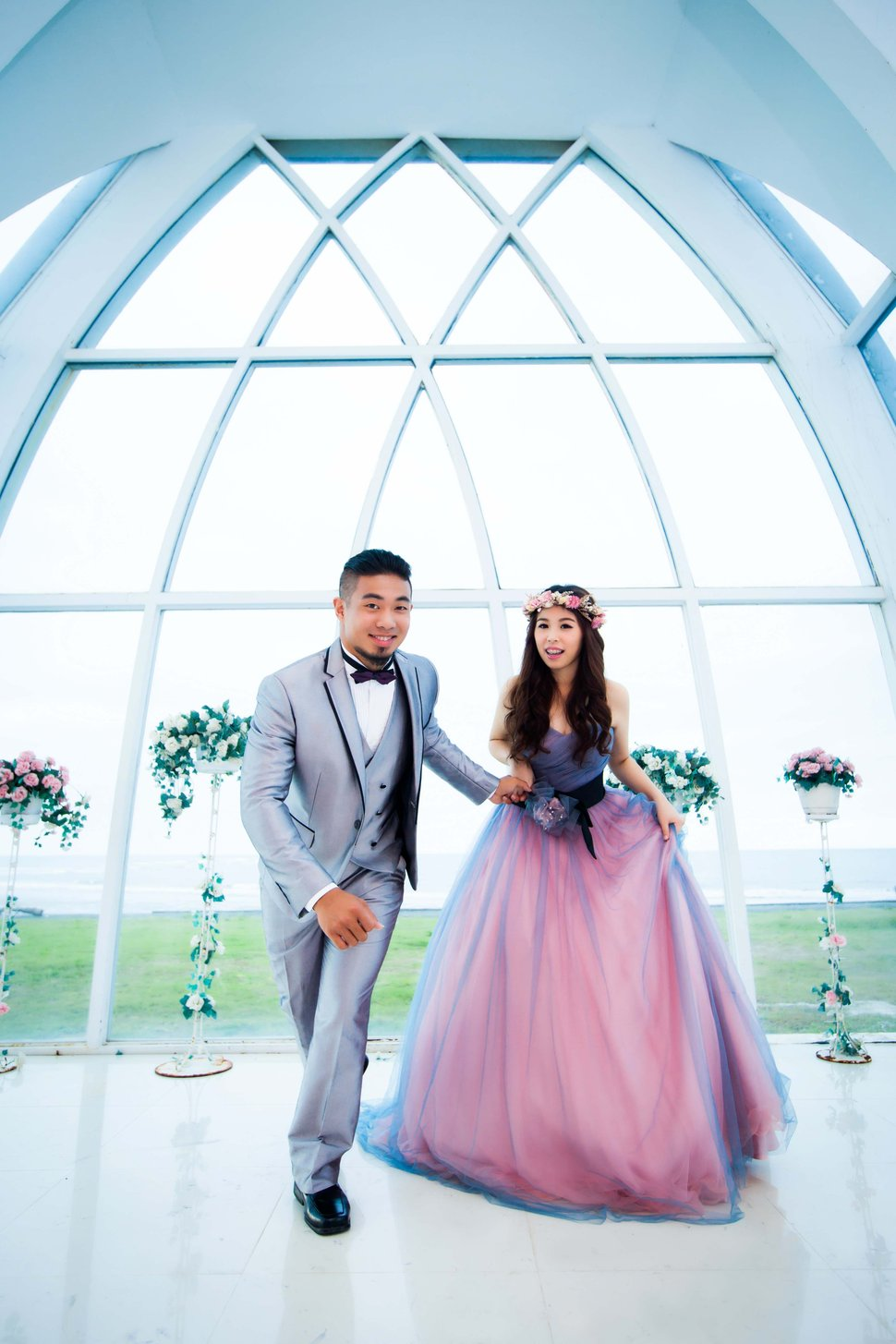 御霖&怡萱-春之嫁衣(編號:308445) - 春之嫁衣精緻婚紗 - 結婚吧一站式婚禮服務平台