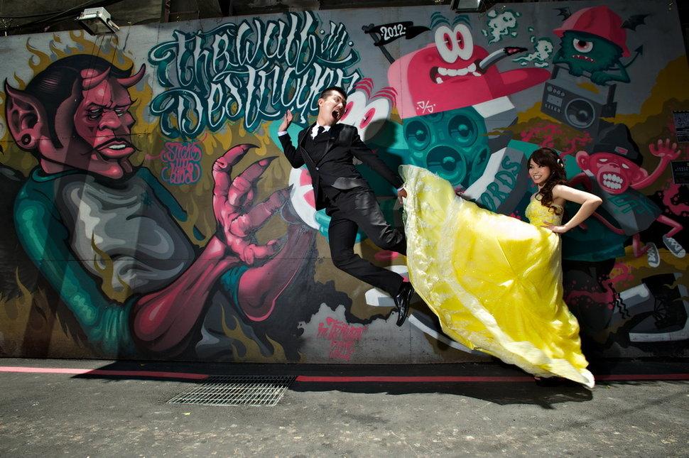 凱棠&青青 春之嫁衣(編號:428079) - 春之嫁衣精緻婚紗 - 結婚吧一站式婚禮服務平台