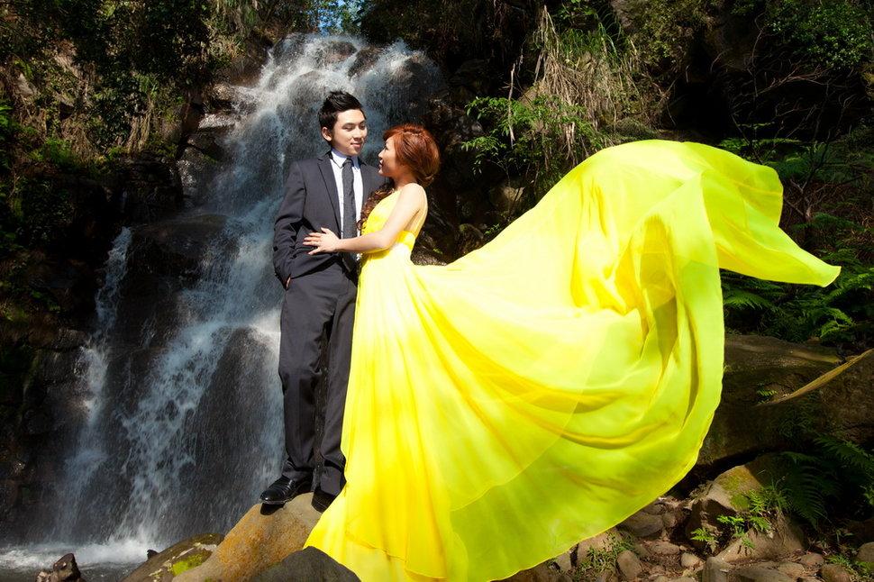 永晉&潔茹 春之嫁衣(編號:431423) - 春之嫁衣精緻婚紗 - 結婚吧一站式婚禮服務平台